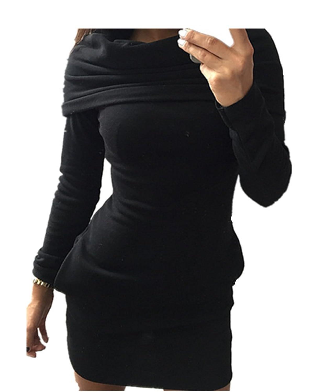 Fanessy Damen Women Winter Hoodie Sweatshirt Jumper Sweater Hooded Pullover