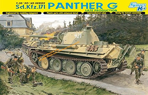 Dragon Models 1/35 Sd.Kfz. 171 Panther G Late Production Smart Kit (Sd Kfz.171 Panther)