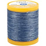 Coats Thread & Zippers and CLARK Dual Duty Plus Denim, 125-Yard, Blue