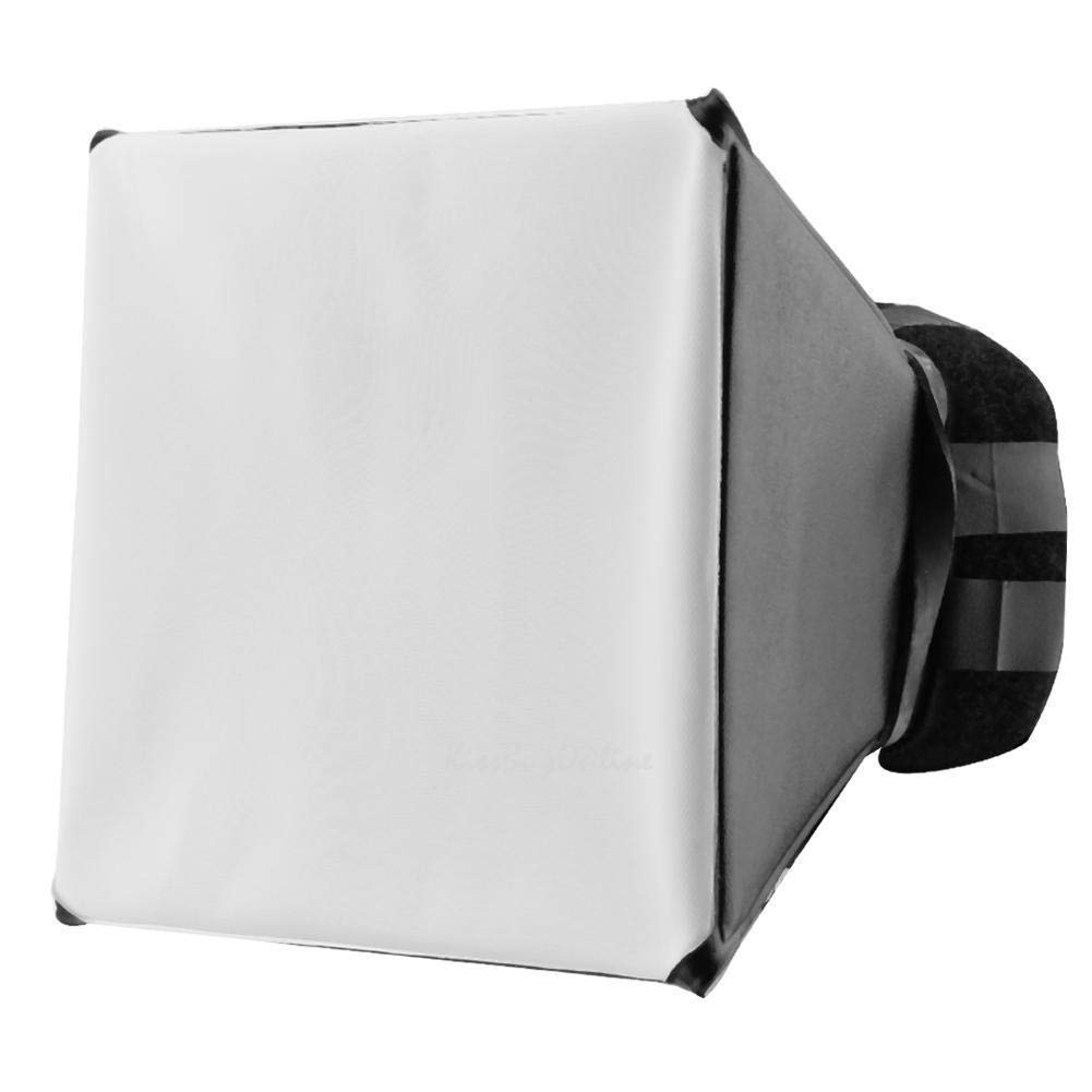 FidgetFidget Diffuser Universal Foldable Photo Flash Lamp Light Soft Box Diffuser for All Camera