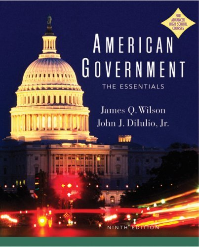 By James Q. Wilson - American Government AP Version 9th Edition (9th Edition) (2003-03-27) [Hardcover] pdf