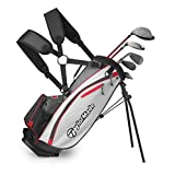 #7: TaylorMade Complete Youth Set W Bag Phenom K50 8Pc/RH S (Unisex, Graphite Hybrids with Steel Irons)