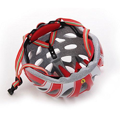 Casco Ferrari patín en línea FAH3, Rojo, m, 200032: Amazon.es: Deportes y aire libre