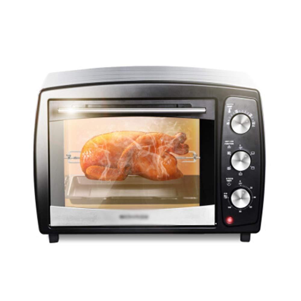 KDJHP  B07QYFFW2X 照明多機能の自動小さい電気オーブンが付いている小型オーブンの世帯オーブンのベーキング急速な暖房オーブン -オーブントースター