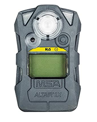 MSA 10153984 ALTAIR 2XP Gas Detector, H2S (Hydrogen Sulfide), Gray: Amazon.com: Industrial & Scientific