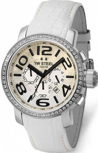 TW Steel Grandeur 45 MM Mother Of Pearl Dial Unisex Watch TW54