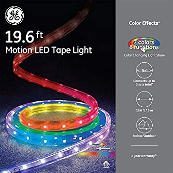 Amazon Com Ge Quot Color Effects 19 Ft Led Color Changing