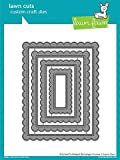 Lawn Fawn Cut Set - STAX Stitched Scalloped Rectangle Frames