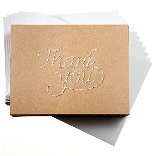 stitched-kraft-thank-you-cards-12-simply-elegant-premium-note-cards-blank-inside-white-envelopes-inc