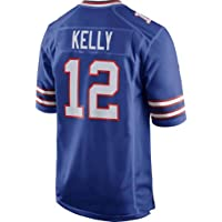 YMXBK Camiseta NFL Jerseys, Bills Fans Versión Bordado Ropa de fútbol Manga Corta Top Deportivo