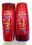 L'Oreal Color Vibrancy Intensive Shampoo and Conditioner Set, 12.6 Ounces each (Bundle: 2 Items)