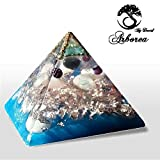 ArboreaCrystals XL Orgone Pyramid. reconnect Reiki charged Orgonite Pyramids,