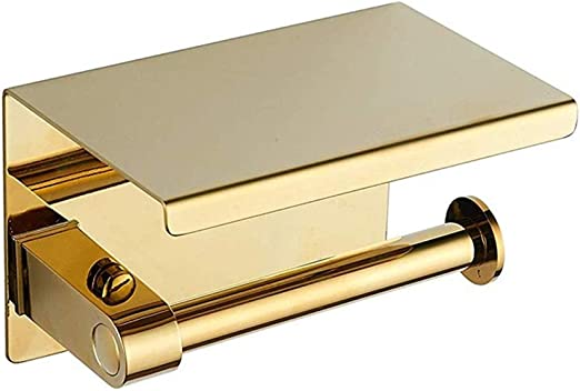 acero inoxidable, PVD Toallero de pared plegable color dorado BGL