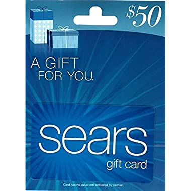 Sears Blue $50 Gift Card