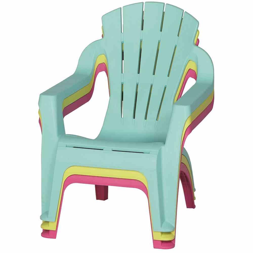 Lime /Mini Selva Deck Chair per Bambini in plastica 6156 PROGARDEN/ 37/x 39,5/x 44.5/cm