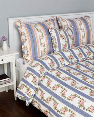 Be-You-Tiful Home Antoinette Duvet Cover, Queen, Blue (Antoinette Duvet Cover)
