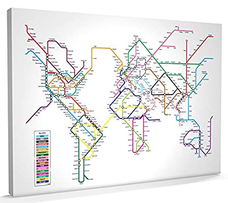 World map in the style of a tube metro subway underground system world map in the style of a tube metro subway underground system gumiabroncs Images
