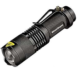 J5 Tactical Flashlight - The Original 250 Lumen Ultra Bright, LED Mini 3 Mode Flashlight