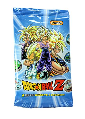 Dragon Ball Z Metal Gliders & Check List Blind Bags Foil Packs Party Bags Favours Set of 10 -  E-Max