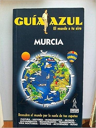 Murcia - guia azul (Guias Azules): Amazon.es: Gijon Mendigutia, Mª ...