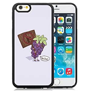 New Personalized Custom Designed For iPhone 6 4.7 Inch TPU Phone Case For Cartoon No Wine Phone Case Cover