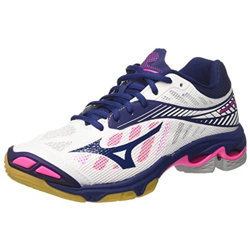 mizuno womens volleyball shoes size 8 x 3 inch height high juegos
