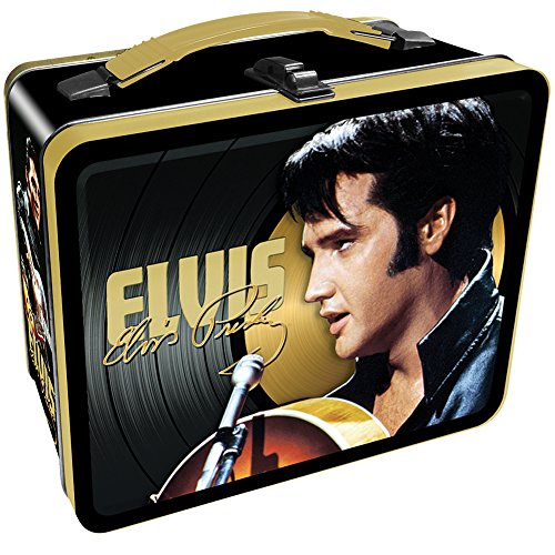 Elvis Presley The King '68 Comeback Embossed Black & Gold LP Record Tin ()