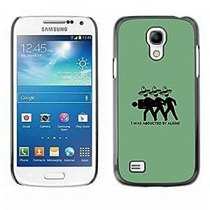 Caucho caso de Shell duro de la cubierta de accesorios de protección BY RAYDREAMMM - Samsung Galaxy S4 Mini i9190 - Mexicano Extranjeros divertidos
