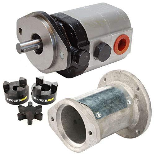"RuggedMade Hydraulic Log Splitter Build Kit - 22 GPM Pump, Engine Mounting Bracket, Coupler (for 1"" Engine Shaft)"