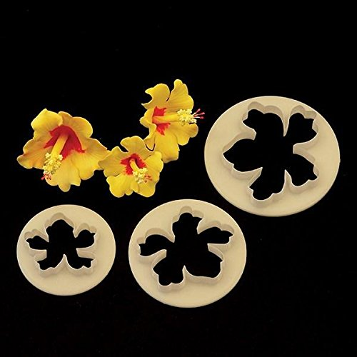 FMM Sugarcraft – Flower Cutter Set – Hawaiian Cake Decoration – Cutting Tool