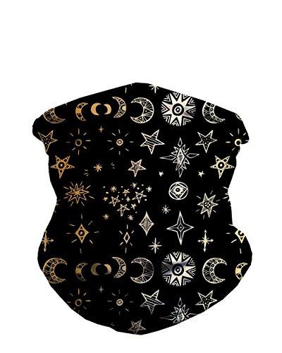 iHeartRaves Cosmic Doodles Seamless Mask Bandana ()