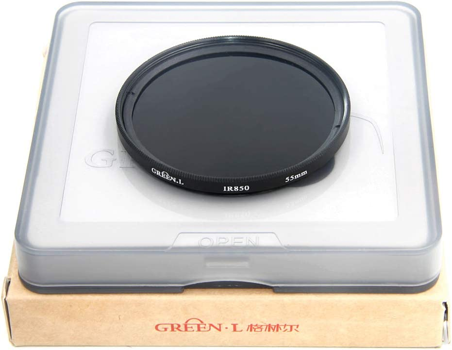 GREEN.L Infrared Filter 55mm IR 850nm X-Ray Filter Optical Glass Filter
