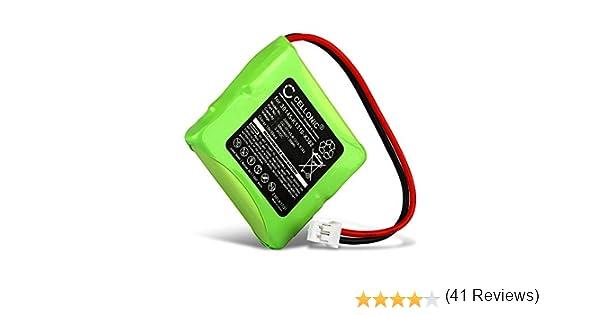 CELLONIC® Batería Compatible con Siemens Gigaset E45, E450 SIM, E455 SIM, Compatible con Swisscom Aton CL-102, Top S329 (500mAh) S30852-D1751-X1,V30145-K1310-X382 bateria de Repuesto, Pila reemplazo: Amazon.es: Electrónica