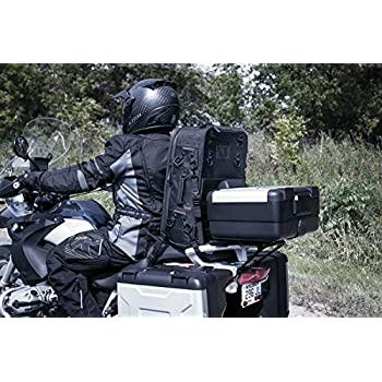 Rolling Carry On Luggage Kuryakyn 5296 XKursion XW Arsenal Weather Resistant Motorcycle Travel Bag Black