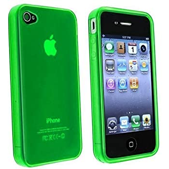 Amazon Com Neon Green Chrome Case For Apple Iphone 4 4s
