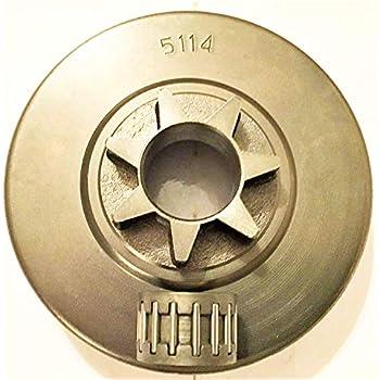"JOHN DEERE CS36 CS40 SPROCKET 3//8/"" 6 TOOTH DRIVE NEW BEARING,NEW EFCO 936 940"