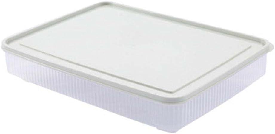Kaxima 24 Cajas de Huevos Celular, más nítidas refrigerador, Cajas de Picnic portátiles, Caja de Almacenamiento de Huevos, cartones de Huevos de plástico, 31x23x6cm: Amazon.es: Hogar