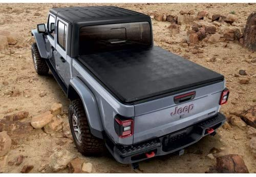Amazon Com Jeep 82215615 Gladiator Tonneau Cover Soft Tri Fold Automotive