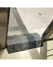 Rubber Ramps for Door Threshold 3 Inch, Heavy Duty Doorway Ramps for Walkers and Wheelchairs, Black Bridge Ramp for Getting Thru Door, Non Slip