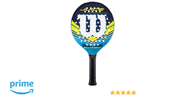 Amazon.com : Wilson Juice Platform Tennis Paddle (4-1/4) : Sports & Outdoors