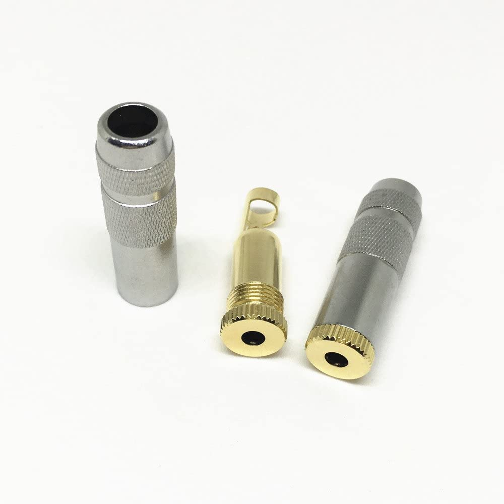 100Pcs New Copper 3.5mm 3Pole Stereo Female Jack Audio Connector ering DIY Mini Jack Mercury/_Group Audio Plugs