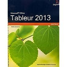 Tableur 2013 avec Excel