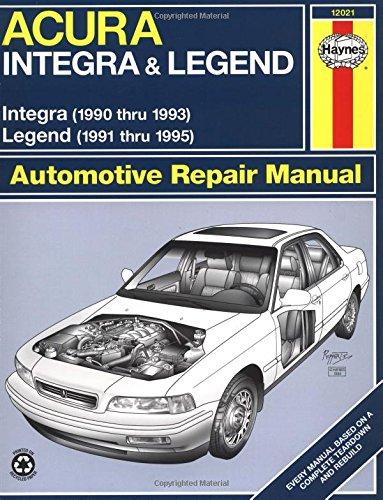 acura-integra-9093-legend-9195-haynes-repair-manuals