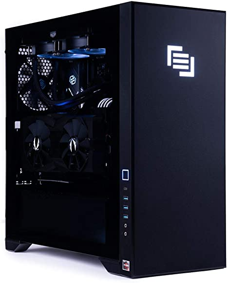 Amazon Com Maingear Vybe 2 Gaming Desktop Tower Computer Pc Amd Ryzen 9 3900x 3 8ghz Cpu Rtx 2080 Super 8gb Gddr6 Gpu 32gb Ddr4 3200 Ram 1tb Nvme Ssd Usb 3 1 Wifi 6 Bluetooth