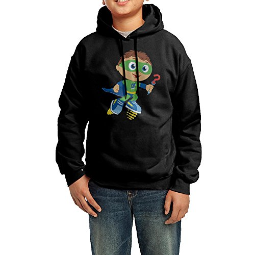 Super Why Why Writer Youth Classic Pullover Athletic Sweatshirt Hoodies