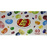 Jelly Belly Jelly Beans, 40 Flavors, 17-Ounce Gift Box