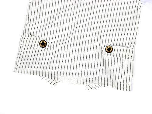 AmzBarley Gentleman Abiti Bambini Formale Camicia Pantaloni Giubbotto Cravatta Set di Vestiti Bimbo Ragazzi per Festa… 6