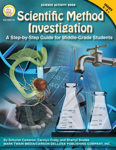 Scientific Method Investigation: A Step-by-Step Guide for Middle-School Students (Science Activity Books)