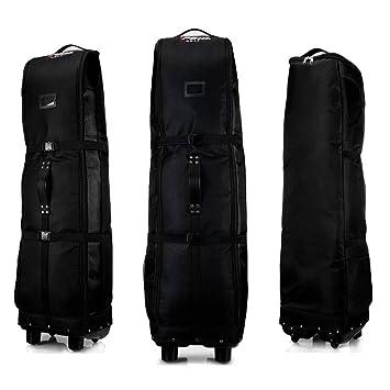 PGM Golf bolsa de viaje, con ruedas – --- doble de la cubierta, grueso, impermeable, nailon), con base
