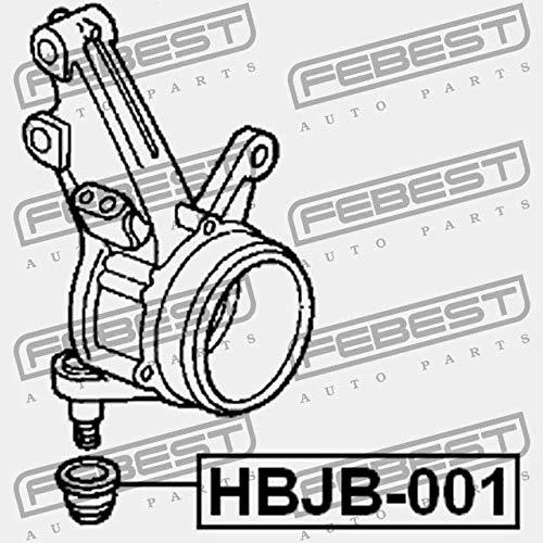 ACHSGELENKGEH/ÄUSE Febest HBJB-001